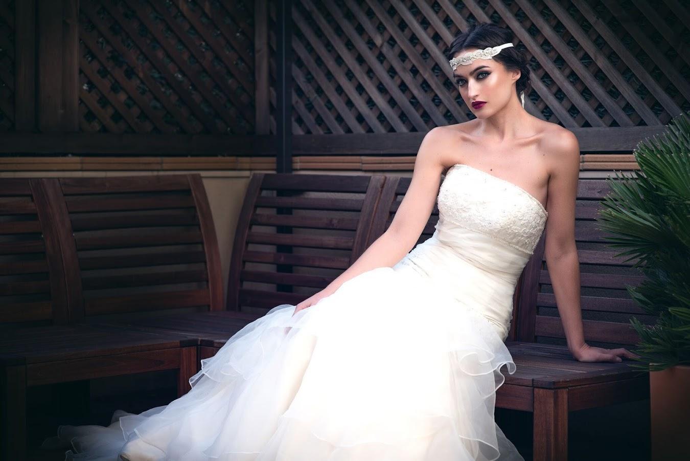 Sesión fotos de novia