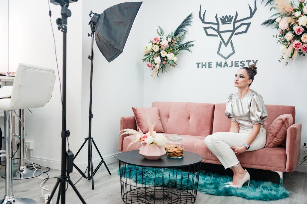 Estudio de maquillaje y belleza The Majesty Studio