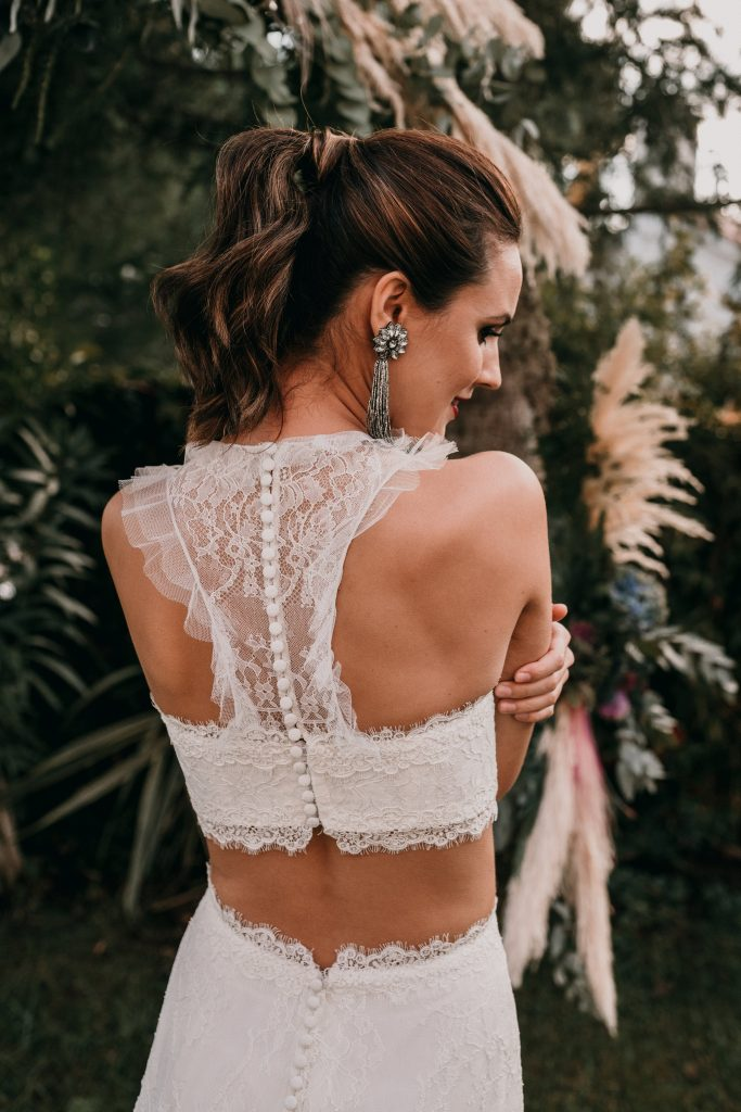 Peinado para editorial de boda - Marta Brides