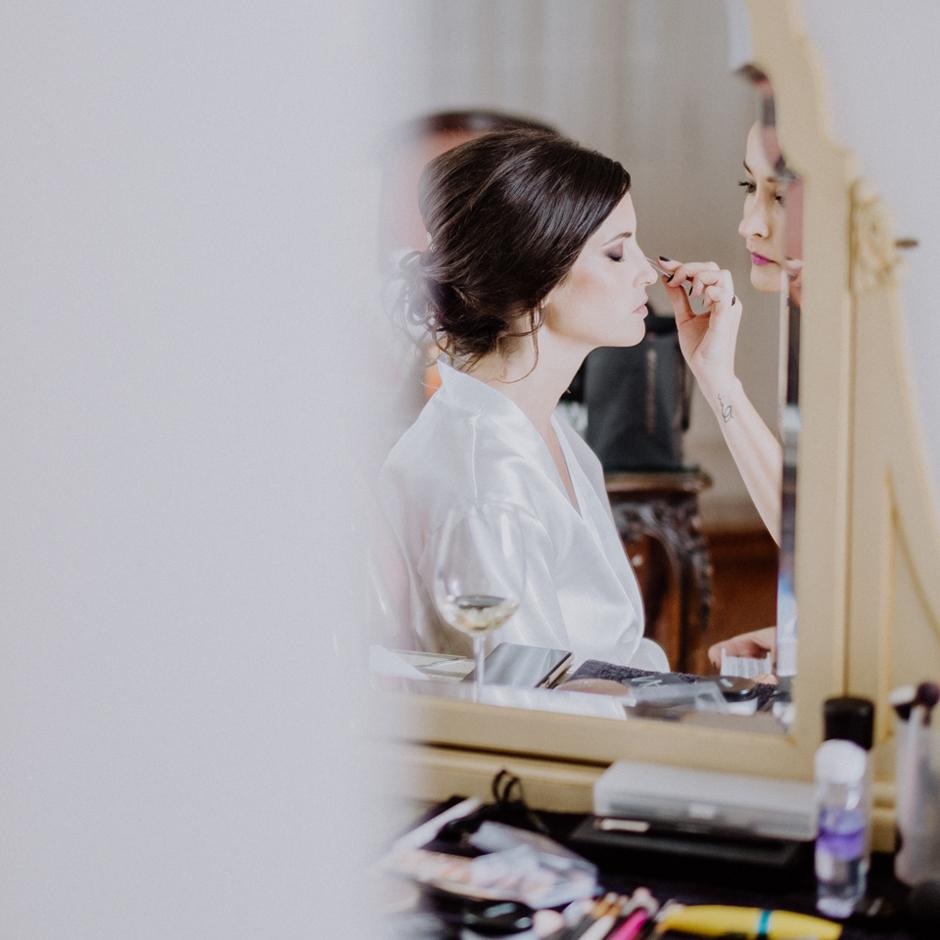 Maquillaje para novias en La Baronía