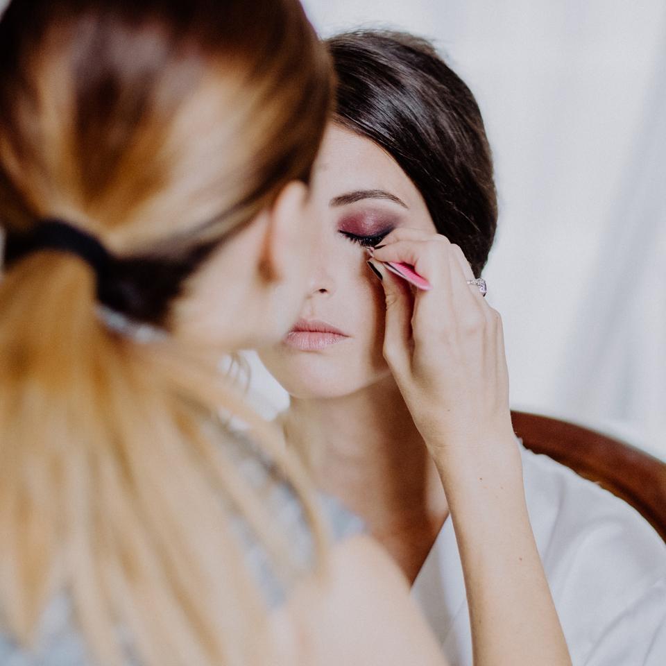 Maquillaje de novia en La Baronía