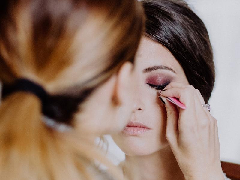 Maquilladora de novias a Domicilio